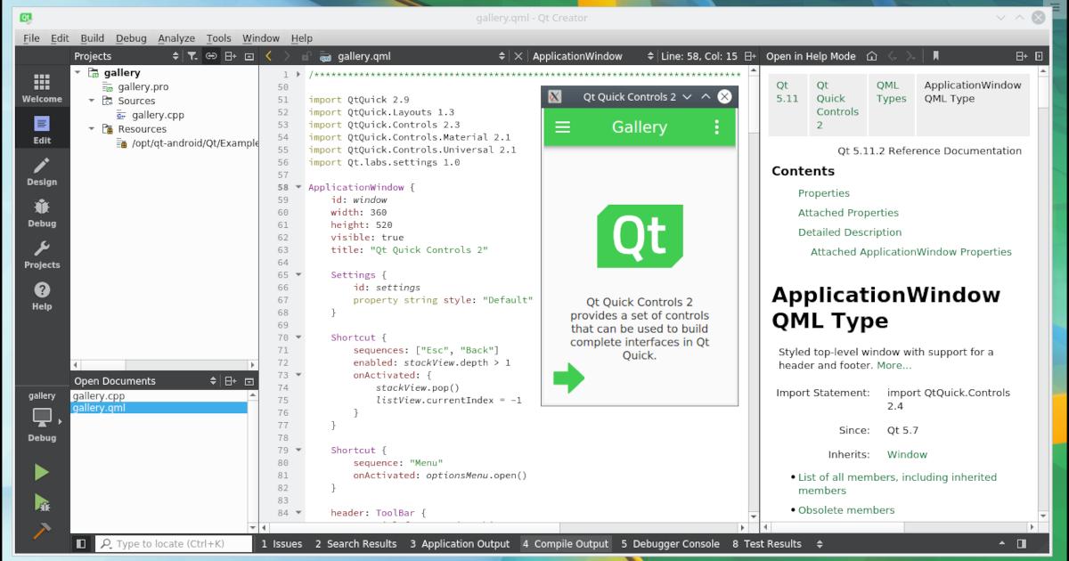 Imagem Linux para Desenvolvimento Android com Qt :: qmob